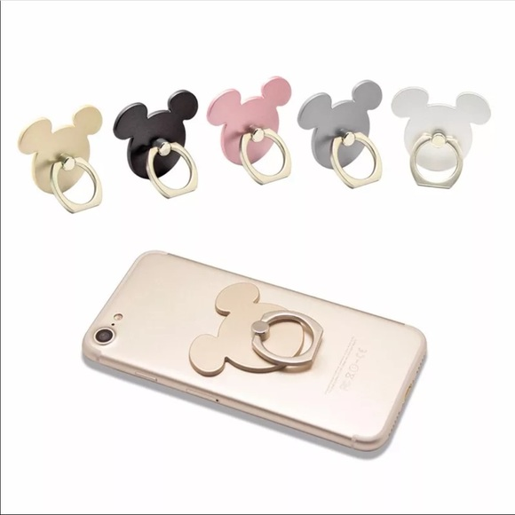 Accessories - Mickey Mouse Cell Phone Ring and Kickstand
